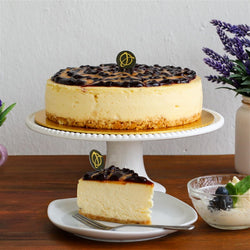 Peanut Butter Blueberry Cheese Cake