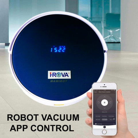 2017 New iROVA Mamibot Prevac 650 Robot Vacuum Cleaner with Wet Mop