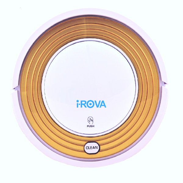 iROVA KK8S with Auto Charge and Dry Mop (Gold & White)