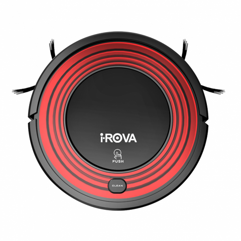 iROVA KK8S with Auto Charge and Dry Mop (Red & Black)