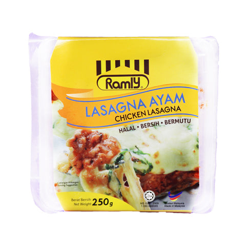 Ramly Chicken Lasagna 250gm