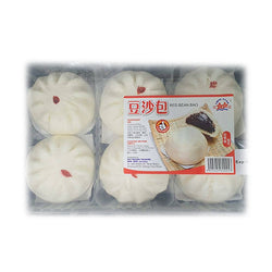 [non-Halal] Red Bean Bun (6 Pcs/pack)