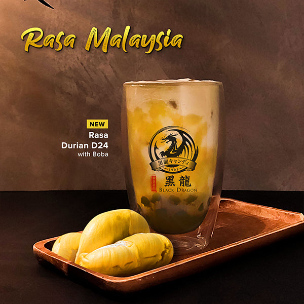 [Discontinue] Rasa Durian D24 with Boba [Cold]
