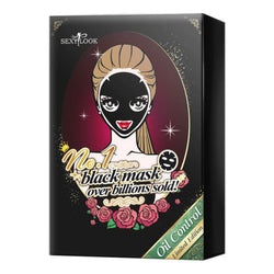 SEXY LOOK Oil Control Black Mask Set 4's
