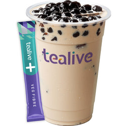 WT01 Fibre Mix Milk Tea - Original Pearl Milk Tea with Veg Fibre