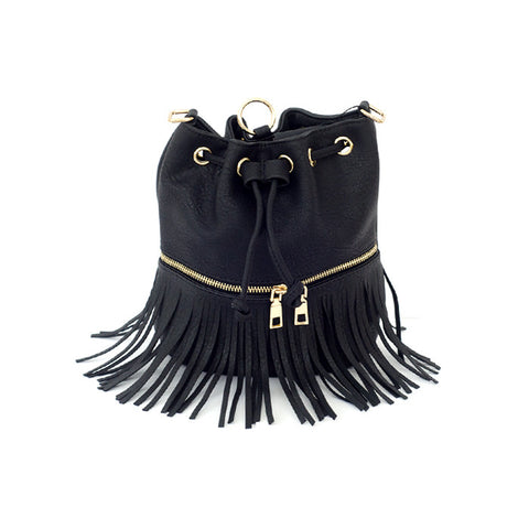 Cecille Bucket Bag - Black