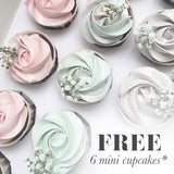 [3 Days Pre-Oder] Unicorn Fantasy with Free Mini Cupcakes