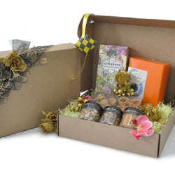 [3 Day Pre-Order] Bereket Raya Hamper - Halal Food Gift Cookies, Safawi Dates, Pineapple Tart