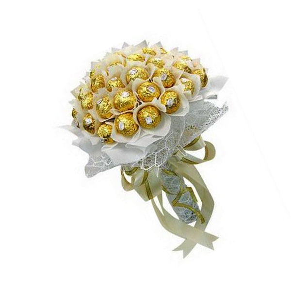 [1 Day Pre-Order] Bridely Ferraro For Mom - Ferraro Rocher Bouquet