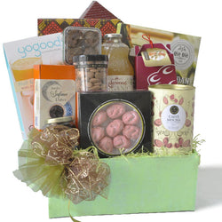 [3 Day Pre-Order] Comert Halal Hamper - Raya Cookies, Safawi Dates, Honey, Lakewood Juice Festive Gift