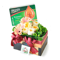 [1 Day Pre-Order] Cordyceps Flory - Brand Essence of Chicken Cordyceps with Flowers Gift Hamper