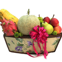 Fruitilicious Booty - Fruits Be Well Hamper Basket