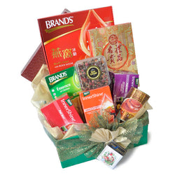 [1 Day Pre-Order] Healthy Feast Hamper - Healthy Brand's Essence Innershine, Tea, Scallops, Abalone Gift Hamper