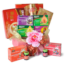 [1 Day Pre-Order] HEALTH HEAP HAMPER - ORIENTAL HEALTHY GIFT HAMPER