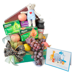 [1 Day Pre-Order] Mommy Treasure Hamper - Fruits & Brand Essence, Lakewood Juices Baby Shower Gift