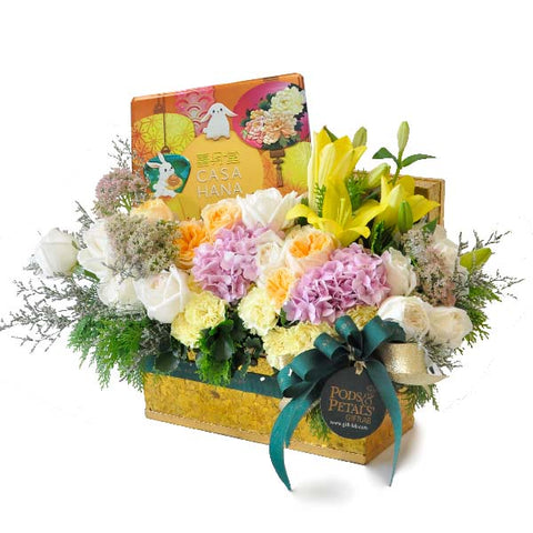 [1 Day Pre-Order] Mooncake Abundance - Citrahana Assorted Mooncake with Flowers