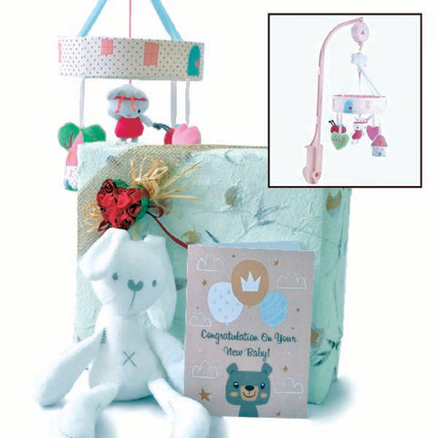 Mothercare Baby Musical Mobile - Newborn Baby Shower Giftset