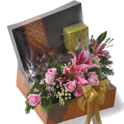 [3 Day Pre-Order] Muzaffer Raya Gift - Patchi Chocolate, Fruits Flowers