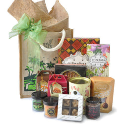 [3 Day Pre-Order] Tanrisal Halal Hamper - Food Gift in Eco carrier Bag