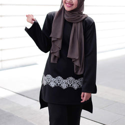 Qadirah Suit (Black)