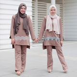 Qadirah Suit (Choc Earth)