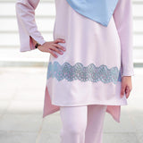 Qadirah Suit (Soft Pink)