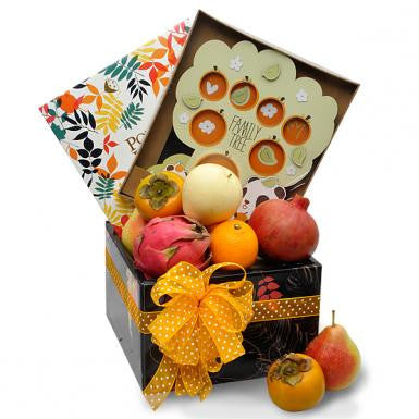 Baby Panda Fruity Tree Bebe Hamper