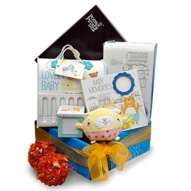 Mothercare Bunny Bed Baby Shower Hamper