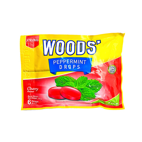 Wood's Peppermint Lozenges Cherry