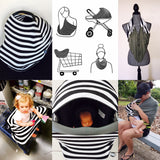 BAMBOO Black White Check Mini LUX Baby Cover