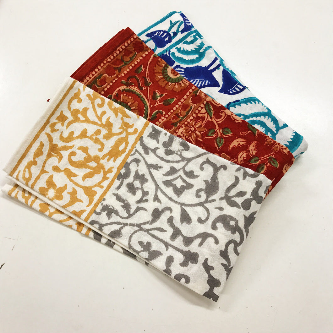 Patterned Fabric Napkins Calico House