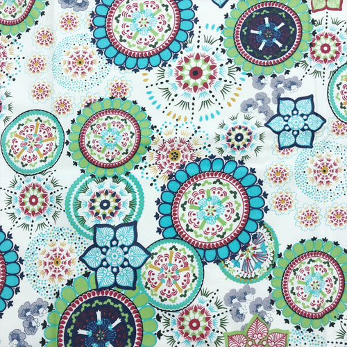 Wildflower Blue Stain Proof Tablecloth