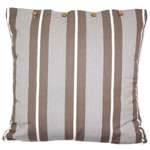 Finley Beige Cotton Cushion Cover