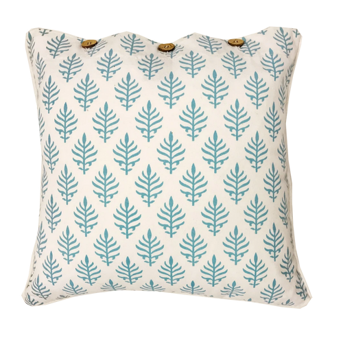 Calm Mist Cotton Cushion Cover