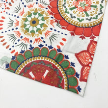 Wildflower Red Stain Proof Tablecloth