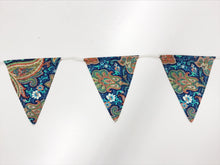Navy Patterned Bunting