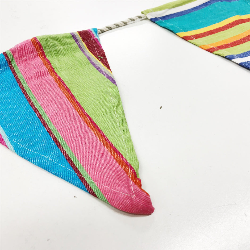 Striped Patterned Bunting