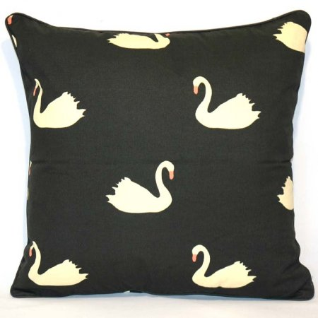 Duck Print Cotton Cushion Cover