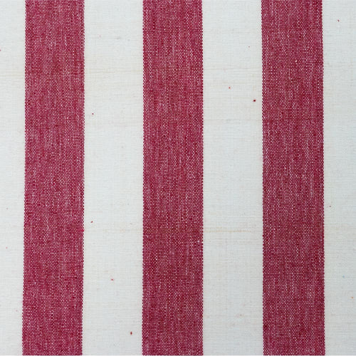 Red & White Stripe Fabric