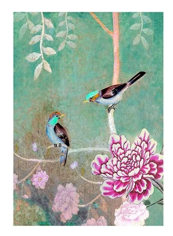 Anna Chandler Tea Towel- Chinoiserie