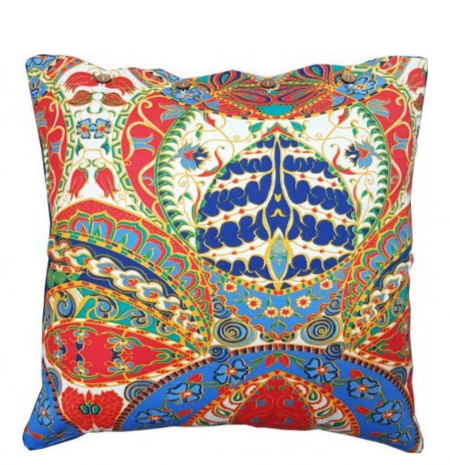 Ankara Cotton Cushion Cover