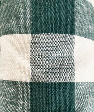 Big Green Gingham Fabric