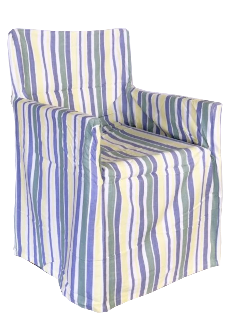 Director's Chair Cover -  Blue and Green