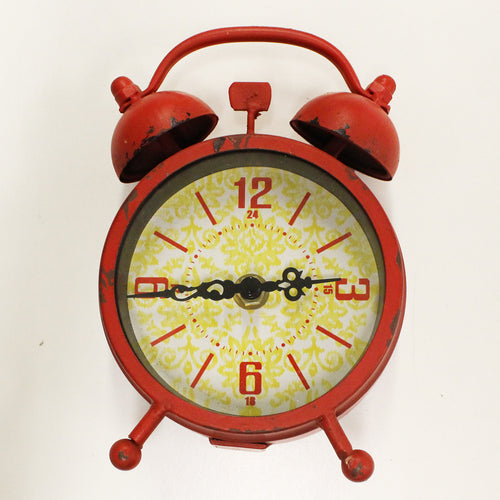 Red Vintage Style Alarm Clock