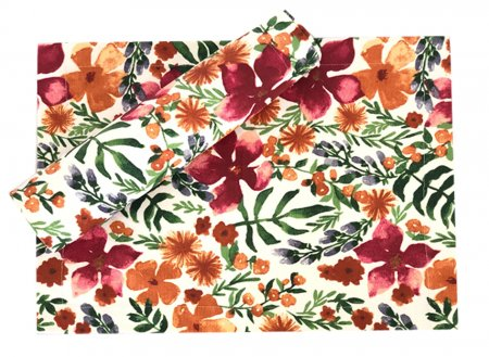 Copenhagan Floral Stain Proof Table Runner
