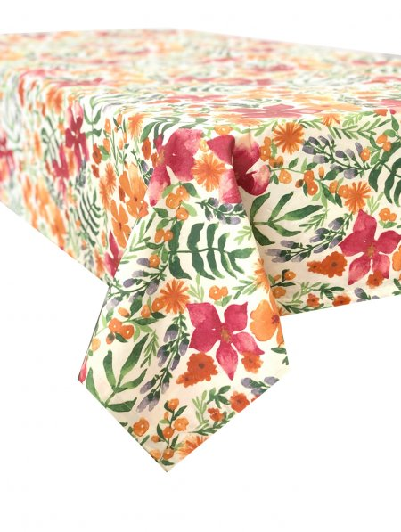 Copenhagan Floral Stain Proof Tablecloth