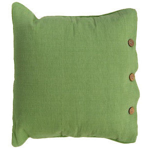 Olive Cotton Cushion Cover