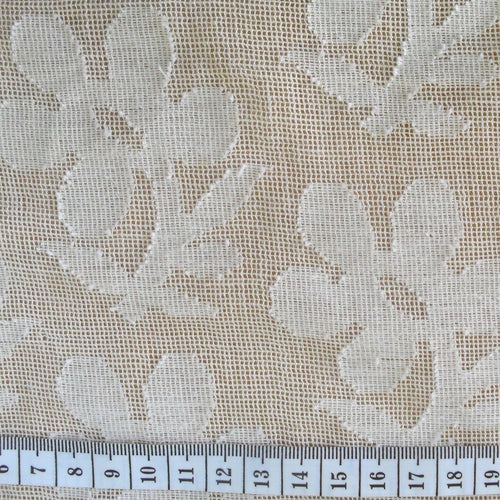 Cutwork Daisy Fabric
