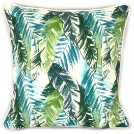 Forest Foliage Cotton Cushion Cover