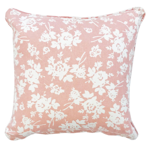 Impressions Pink Cotton Cushion Cover